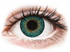 Zelené kontaktní čočky - dioptrické - Air Optix Colors - Turquoise - dioptrické (2čočky)