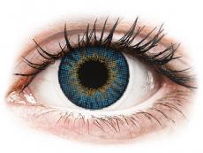 Modré kontaktní čočky - dioptrické - Air Optix Colors - True Sapphire - dioptrické (2čočky)