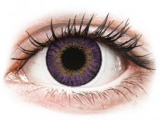 Barevné kontaktní čočky - Air Optix Colors - Amethyst - dioptrické (2čočky)