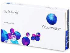 Měsíční levné kontaktní čočky - Biofinity XR (3čočky)