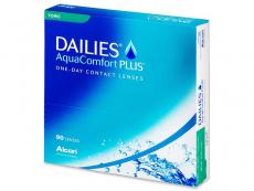 Kontaktní čočky Alcon - Dailies AquaComfort Plus Toric (90čoček)