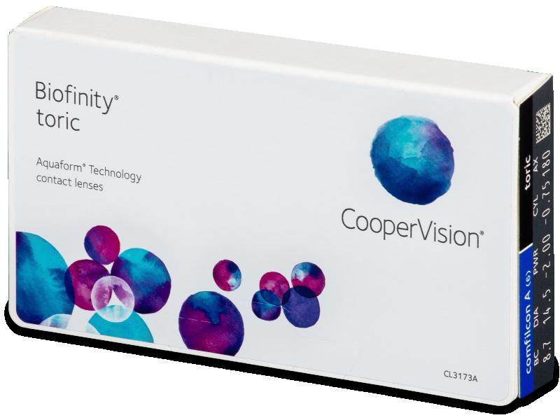 Biofinity Toric (6čoček) - Torické kontaktní čočky