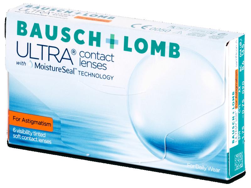Bausch + Lomb ULTRA for Astigmatism (6 čoček) - Torické kontaktní čočky
