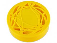 Příslušenství k čočkám - Kazetka s ornamentem - žlutá