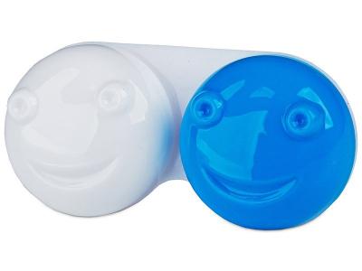 Pouzdro na čočky 3D - modré