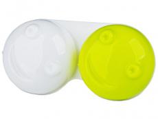 Pouzdra a kazetky - Pouzdro na čočky 3D - zelené