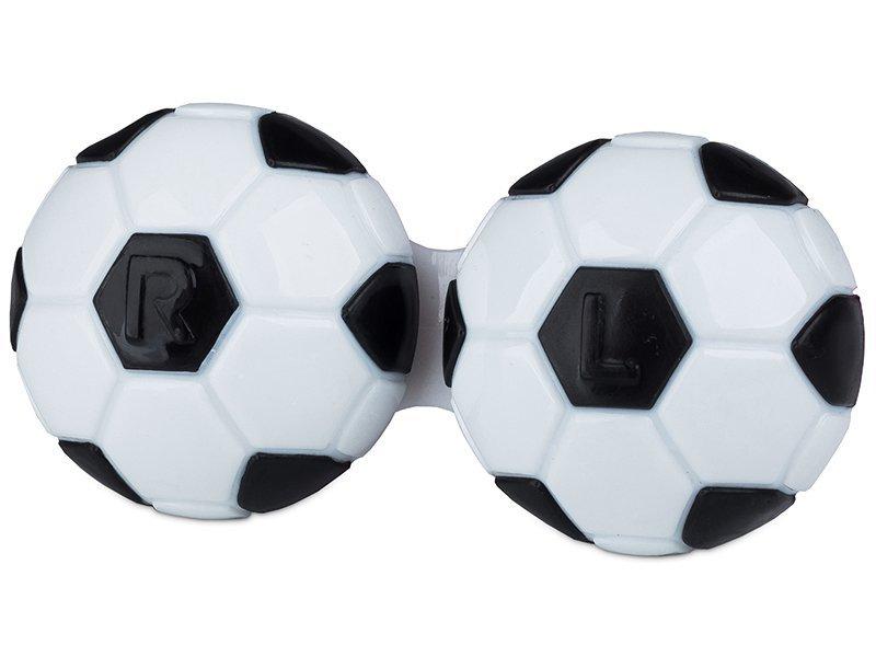 Pouzdro na čočky Fotbal - černé