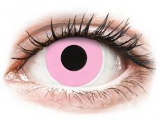 Kontaktní čočky Maxvue Vision - ColourVUE Crazy Lens - Barbie Pink - nedioptrické (2čočky)