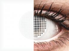 ColourVUE Crazy Lens - White Screen - nedioptrické (2čoček)