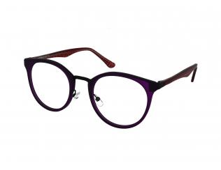 Kulaté dioptrické brýle - Crullé 9037 C2