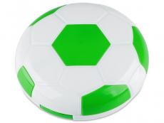 Pouzdra a kazetky - Kazetka Fotbalový míč - zelená