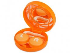 Pouzdra a kazetky - Kazetka s ornamentem - oranžová