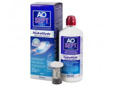 Roztoky na kontaktní čočky - čistící a dezinfekční oční roztoky - Roztok AO SEPT PLUS HydraGlyde 360ml