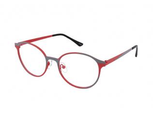 Kulaté dioptrické brýle - Crullé 9335 C3