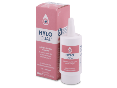 Oční kapky Hylo DUAL 10 ml