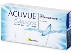 Kontaktní čočky Johnson and Johnson - Acuvue Oasys (12 čoček)