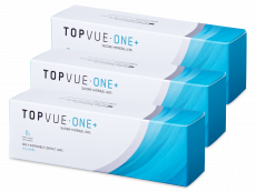 TopVue One+ (90 čoček) - Jednodenní kontaktní čočky