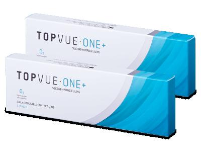 TopVue One+ (5 párů čoček) - Jednodenní kontaktní čočky