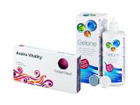 Avaira Vitality (6 čoček) + roztok Gelone 360 ml