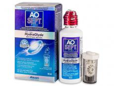 Roztoky na kontaktní čočky - čistící a dezinfekční oční roztoky - Roztok AO SEPT PLUS HydraGlyde 90 ml