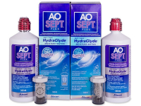 Roztok AO SEPT PLUS HydraGlyde 2 x 360ml  - Výhodné dvojbalení roztoku