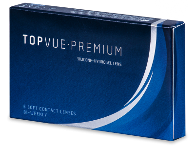 TopVue Premium (6 čoček) - Čtrnáctidenní kontaktní čočky
