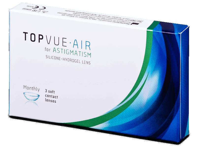 TopVue Air for Astigmatism (3čočky) - Torické kontaktní čočky