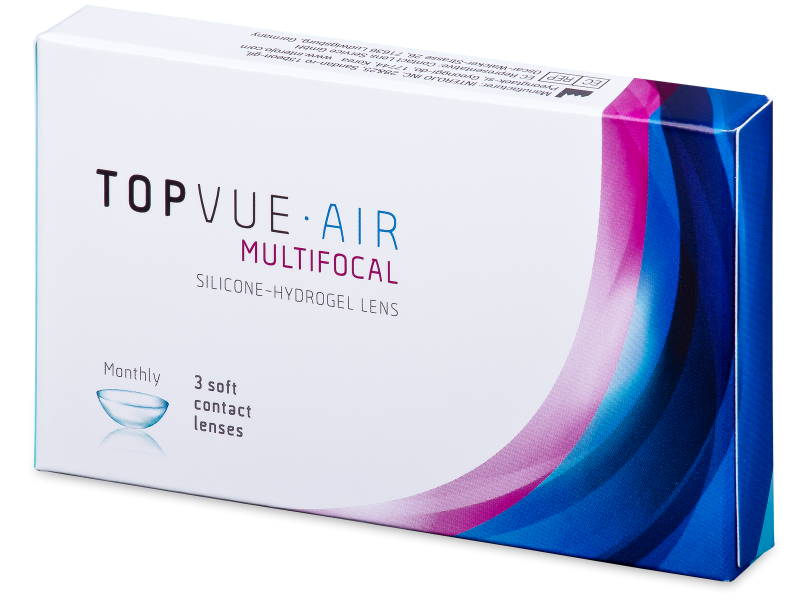 TopVue Air Multifocal (3 čočky)