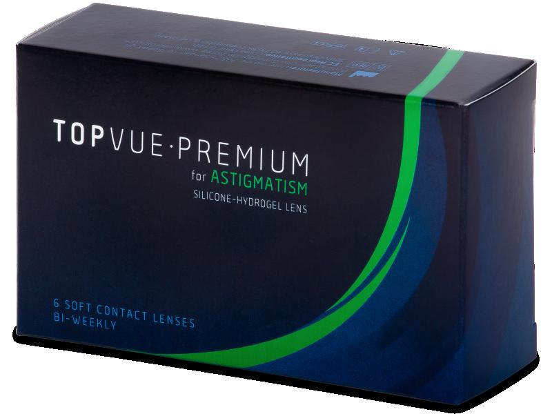 TopVue Premium for Astigmatism (6čoček) - Torické kontaktní čočky