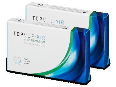 TopVue Air for Astigmatism (6čoček) - Torické kontaktní čočky