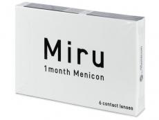 Měsíční levné kontaktní čočky - Miru 1 Month (6 čoček)