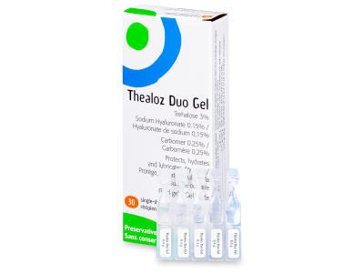 Oční kapky Thealoz Duo Gel 30x 0,4g