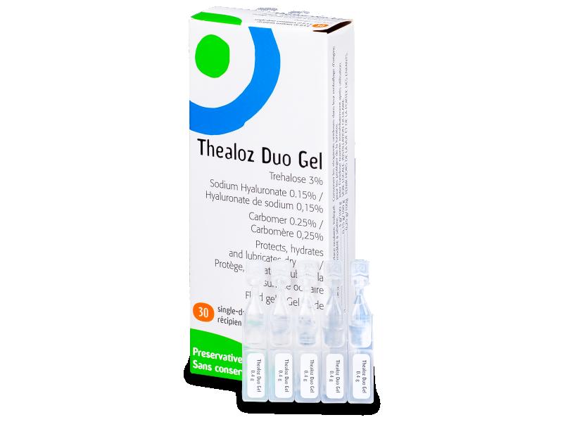 Oční kapky Thealoz Duo Gel 30x 0,4g  - Čistící roztok