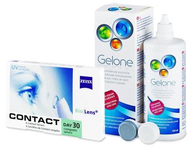 Carl Zeiss Contact Day 30 Compatic (6čoček) +roztokGelone360ml