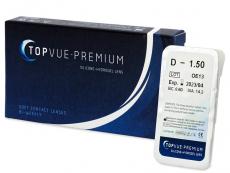 Kontaktní čočky TopVue - TopVue Premium (1čočka)