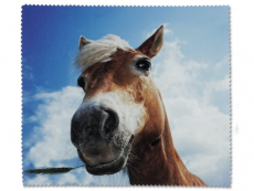 Péče o brýle - Čistící hadřík na brýle - kůň