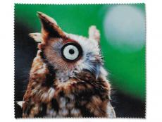 Péče o brýle - Čistící hadřík na brýle - sova