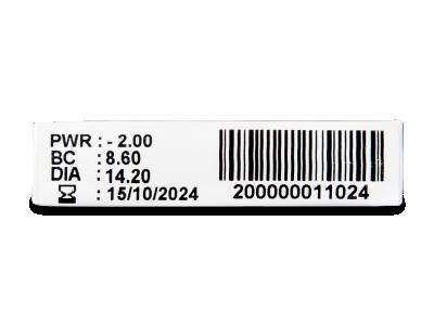 TopVue Plus (1 čočka) - Náhled parametrů čoček