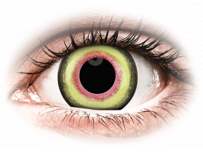 ColourVUE Crazy Lens - Mad Hatter - nedioptrické jednodenní (2čočky)