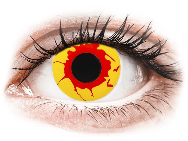 ColourVUE Crazy Lens - Reignfire - nedioptrické jednodenní (2čočky) - Barevné kontaktní čočky