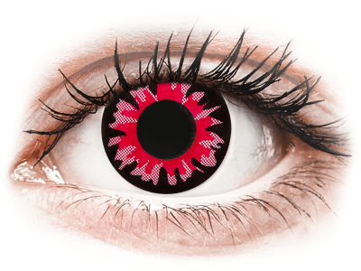 ColourVUE Crazy Lens - Volturi - nedioptrické jednodenní (2čočky) - Barevné kontaktní čočky