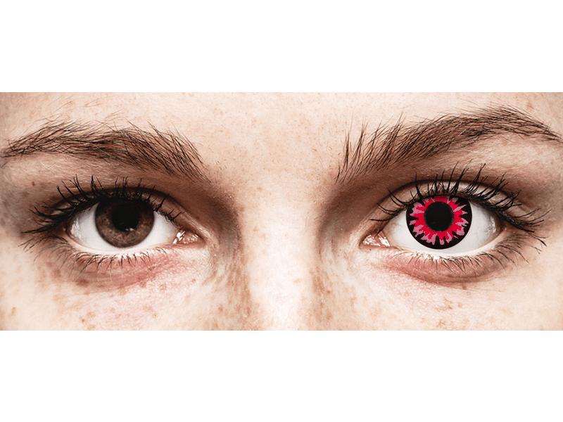ColourVUE Crazy Lens - Volturi - nedioptrické jednodenní (2čočky)