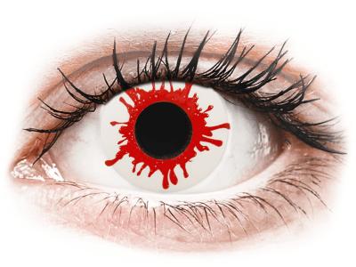 ColourVUE Crazy Lens - Wild Blood - nedioptrické jednodenní (2čočky) - Barevné kontaktní čočky
