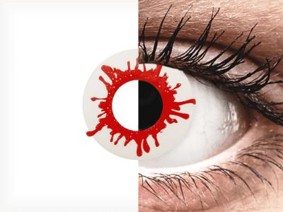 ColourVUE Crazy Lens - Wild Blood - nedioptrické jednodenní (2čočky)