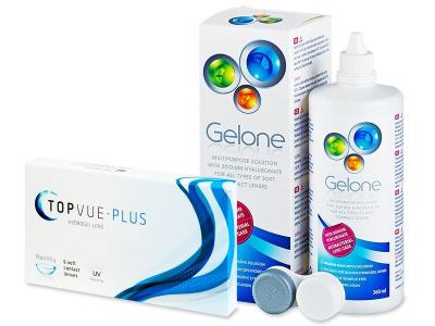 TopVue Plus (6 čoček) + roztok Gelone 360 ml - Předchozí design