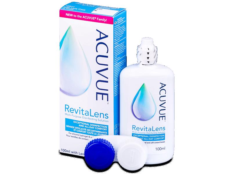 Roztok Acuvue RevitaLens 100 ml  - Čistící roztok