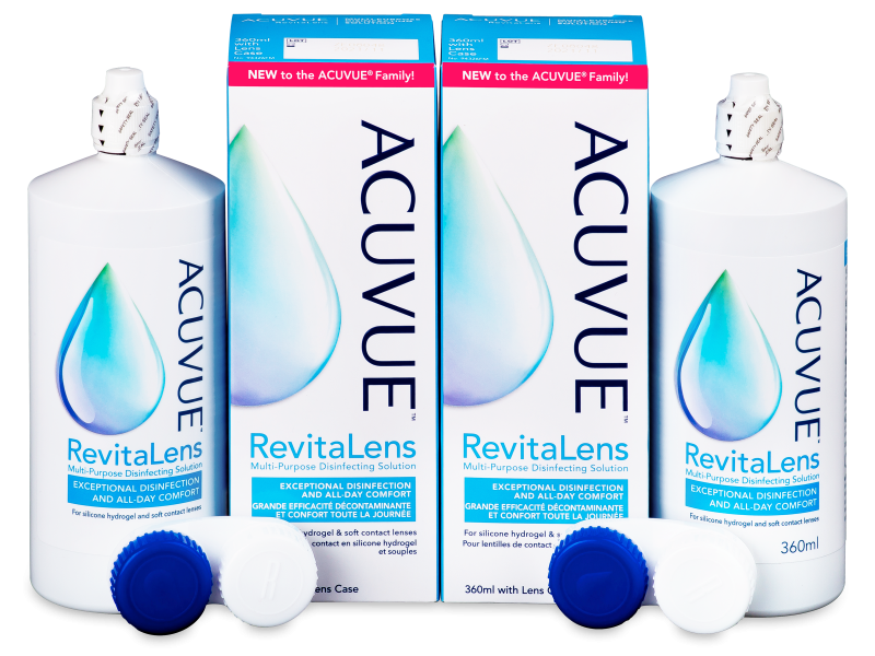 Roztok Acuvue RevitaLens 2x 360 ml