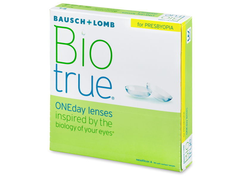 Biotrue ONEday for Presbyopia (90 čoček)