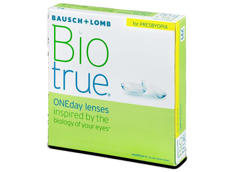 Biotrue ONEday for Presbyopia (90 čoček) - Jednodenní kontaktní čočky