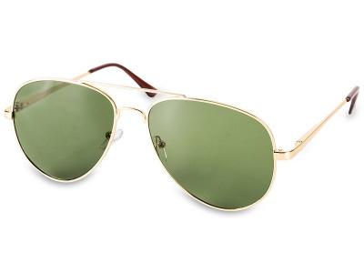Sluneční brýle Pilot - polarizované  - model: Gold - polarized
